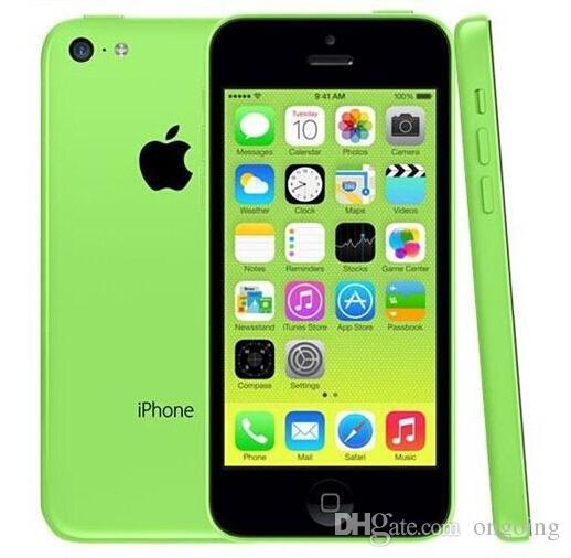 Téléphones cellulaires débloqués iPhone5C Apple iPhone 5C iPhone 5C 4.0 Écran capacitif IPS 1136 * 640pixels Renouvelez iPhone5C