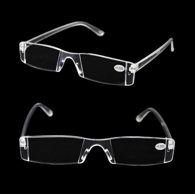 Memória sem aro Cores claras Óculos flexíveis Leitura Óculos Presbiopia Lupas +1.0 +1.5 +2.0 +2.5 +3.0 +3.5 +4.0