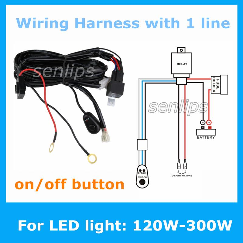 2015 new auto wiring harness kit led hid 2015 new! auto wiring harness kit led hid light bar wire harness how to install wiring harness for light bar at gsmportal.co