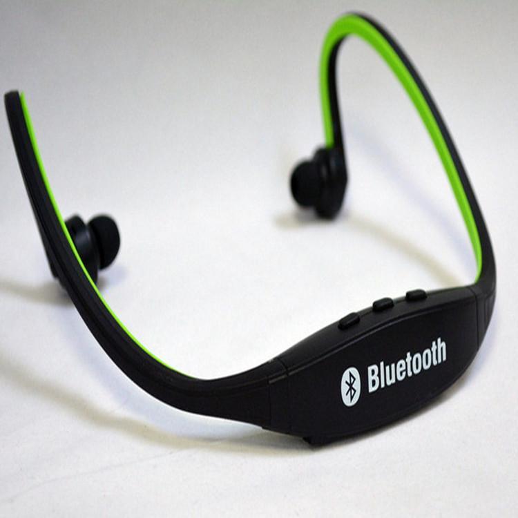 Freies Verschiffen-bester Mischfarben-drahtloser Sport-Kopfhörer MP3 Kopfhörer Protable Kopfhörer mit 2.0 USB TF-Karten-Schlitz