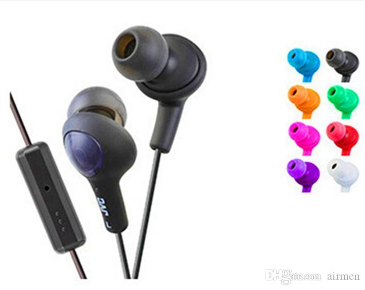 Ecouteurs intra-auriculaires HA-FX5 Gumy Plus FX5 pour LG Sony Samsung Oreillette HA-Plus micro 3,5 mm pour Galaxy S2
