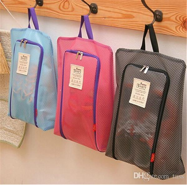 65b81518b888 Shoes Storage bag Organizer Waterproof Basket women men bags travel Handbag  Necessities items Accessories Supplies Products