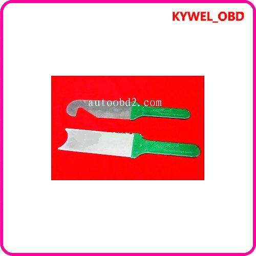 KLOM Power Quick Opener Set de 2 pièces outil de verrouillage de verrouillage magique, Super porte ouvreur de fente ensemble, cross pick, outil de serrurier livraison gratuite