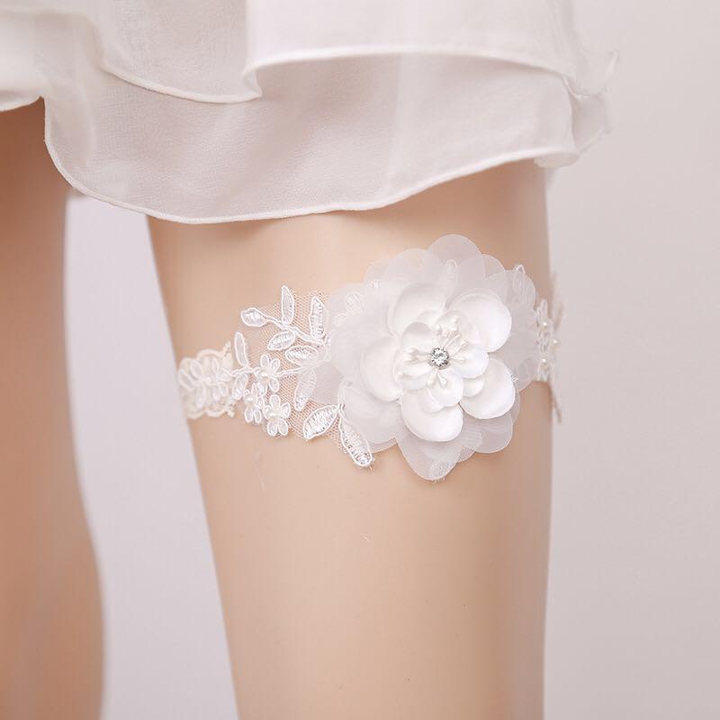 Braut Strumpfband Strumpfhalter Spitze Prinzessin Lap Ring Hochzeit Zubehör Set von Beinen europäischen und amerikanischen Stil freie Größe