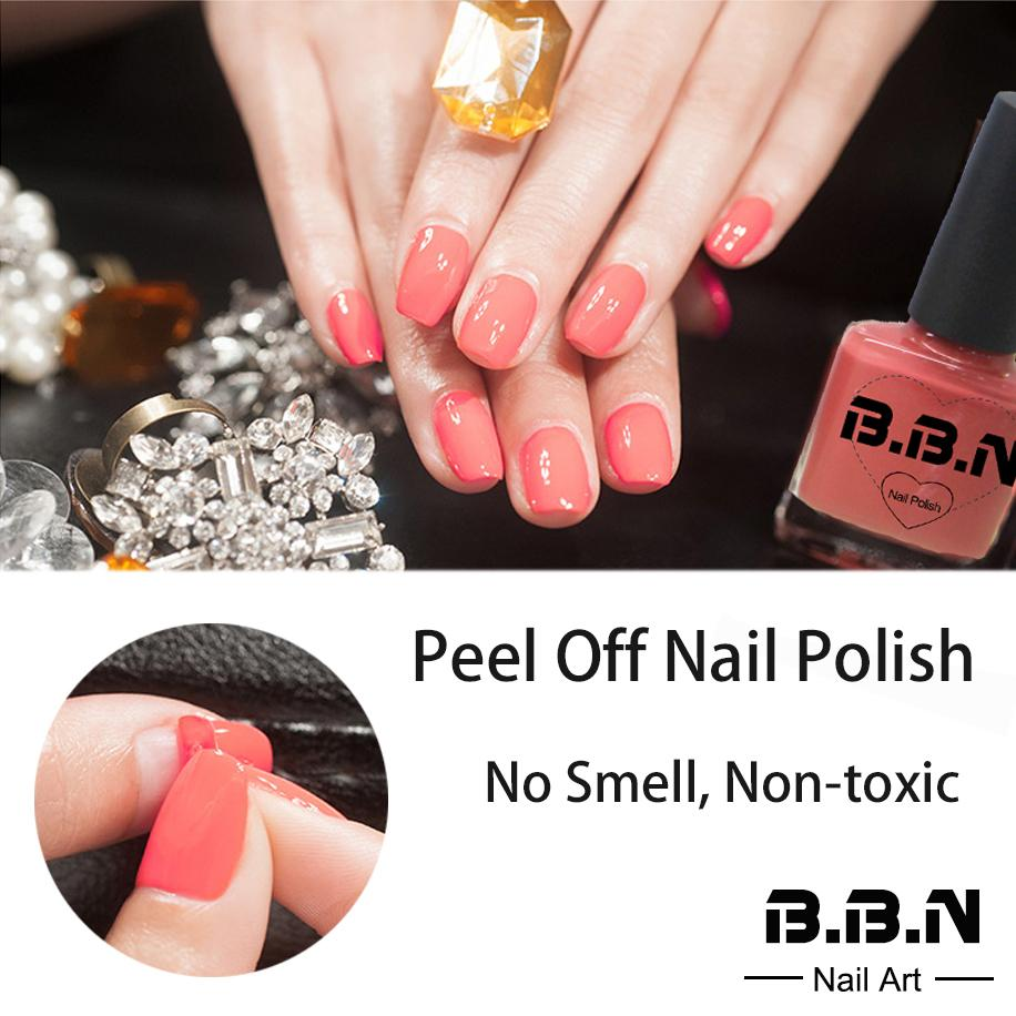 Wholesale 8ml Non Toxic No Smell Weekly Peel Off Water Nail Polish ...