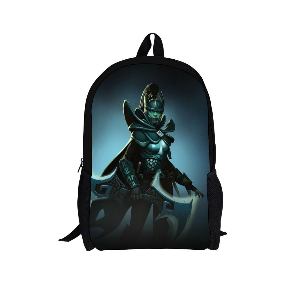 New 2014 Cool Design Cartoon Game Dota Backpack Boys Bags ...