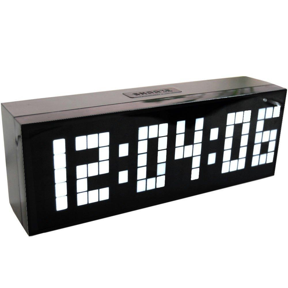 Best jumbo led alarm clock countdown timer wall clock home decor see larger image amipublicfo Gallery