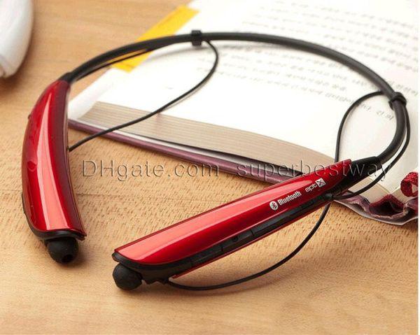 hbs-750 hbs750 Kopfhörer Bluetooth Kopfhörer-Ton drahtloser mobiler Kopfhörer für IPhone HTC Samsung-Galaxie Fahrwerk DHL EAR011