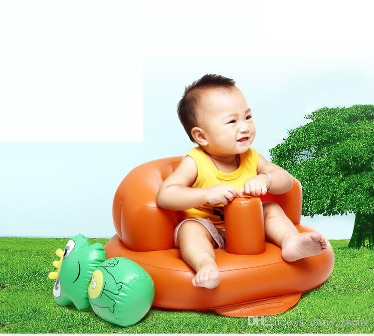 2018 Inflatable Bath Baby Bath Seat Chair For Babies Children Sofa ...