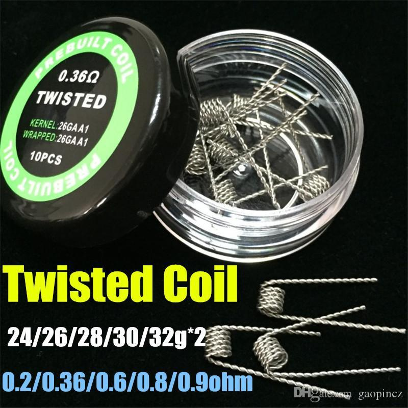 2016 flat twisted wire fused clapton coils hive pre made wrap wires see larger image keyboard keysfo Images