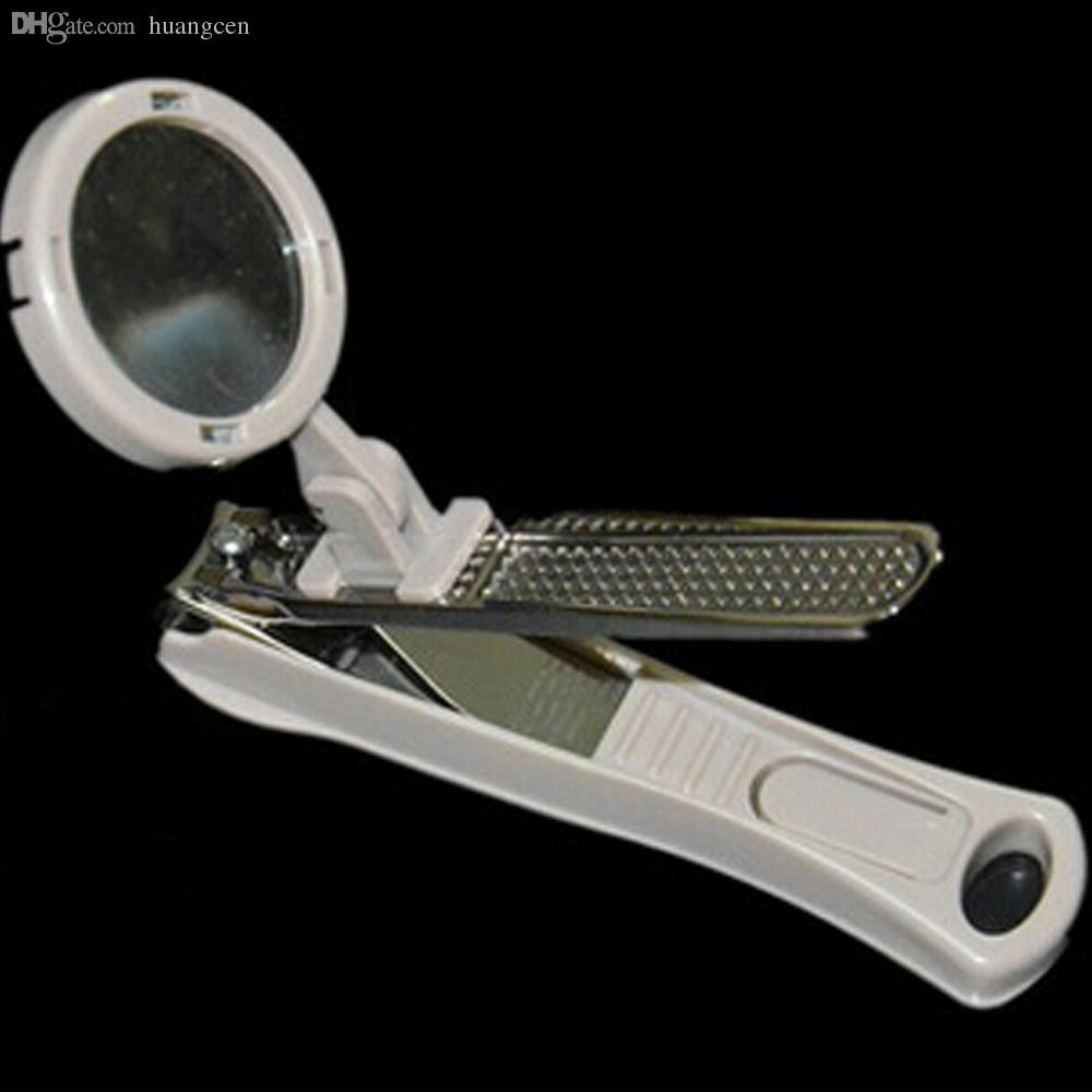Wholesale Magnified Nail Clipper With Nail Catcher For Fingernails