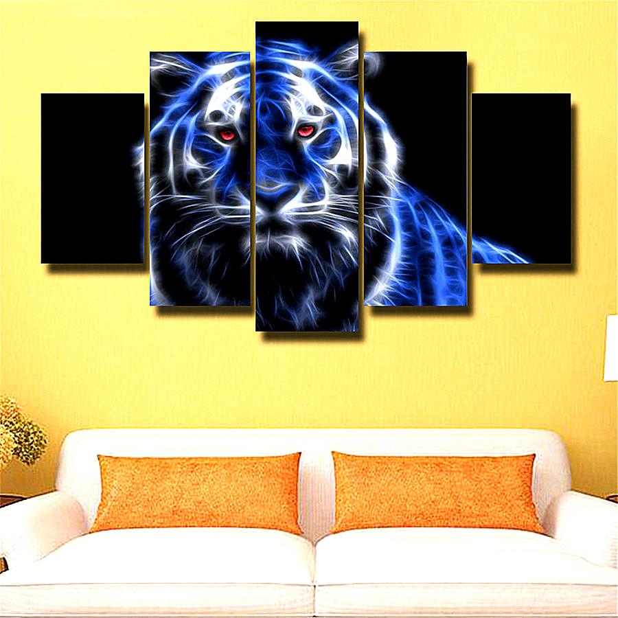 Animais Tigre,Home Decor HD Printed Modern Art Painting on Canvas ...