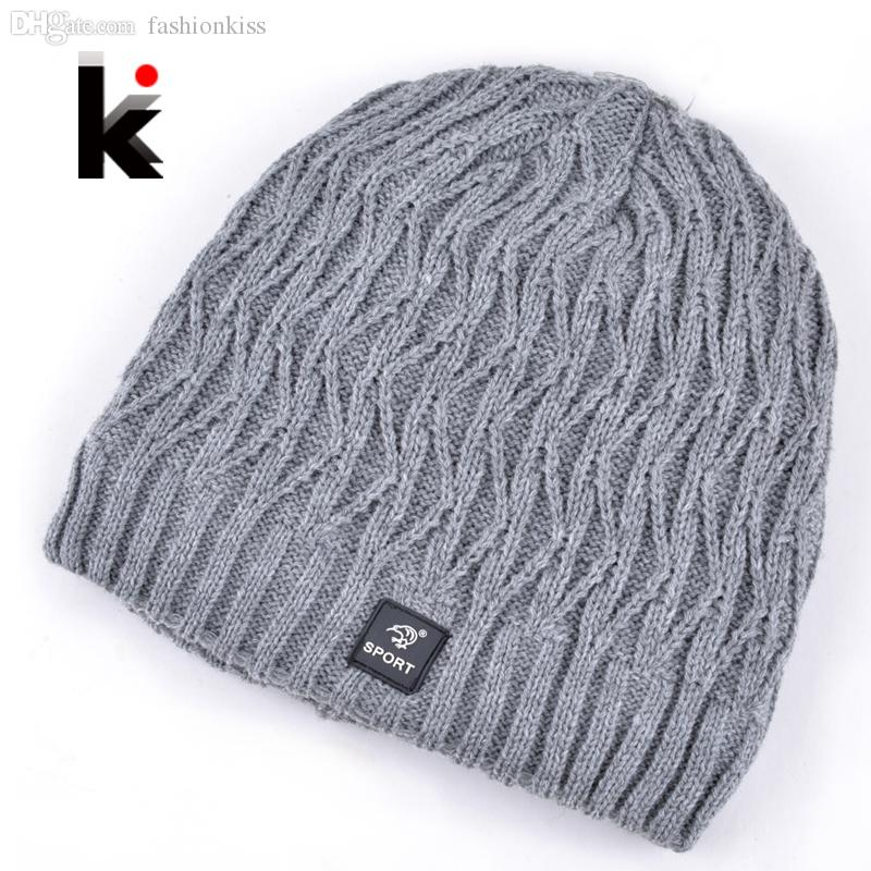 d736b63a65aa2 Wholesale 2015 Bonnet Winter Mens Skullies Designer Hat Outdoor Ski Mask Knitted  Wool Hat Men Cap Beanies Plus Thick Velvet Hats For Men Knit Beanie Cap ...