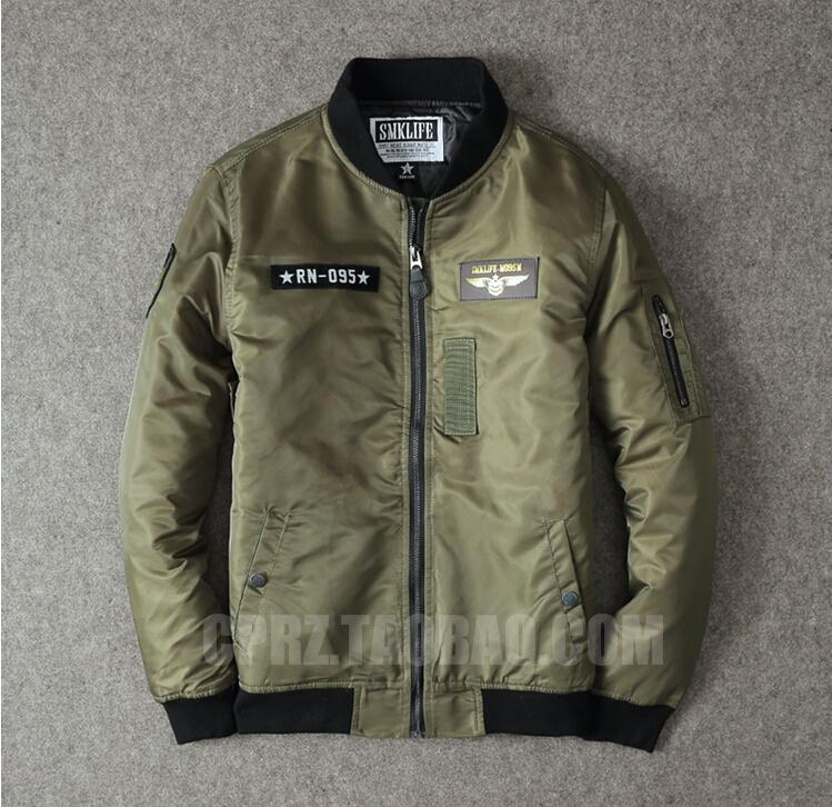 Eagle Air Force Aircraft Clothes Padded Jacket Ma1 Bomber Jacket ...