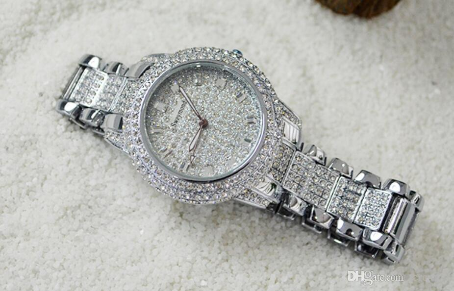 pave gold watch dial watches ruby full diamond rolex president lady i datejust