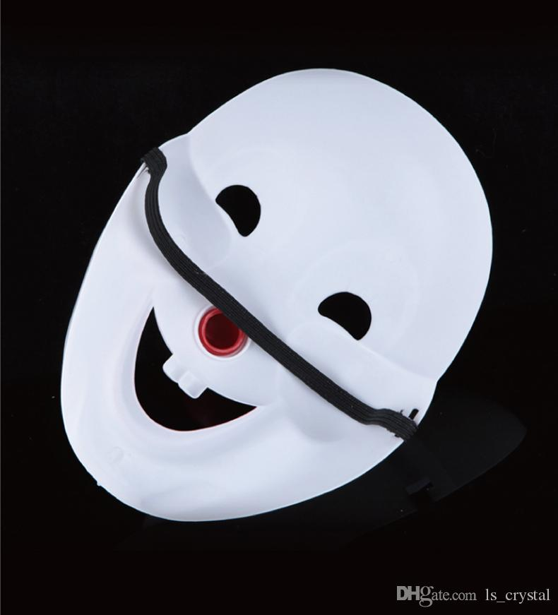 Halloween Party Jester/Jolly Mask Full Face PVC Cosplay Decoration Mask Masquerade Dancing Makeup Mask April Fool's Day Costume SD320