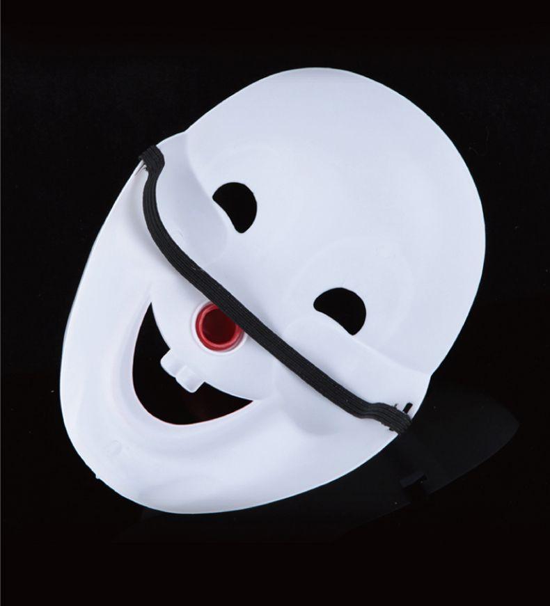 Halloween Party Jester / Jolly Maske Vollgesichts PVC Cosplay Dekoration Maske Maskerade Tanzen Make-Up Maske Aprilscherz Kostüm 10 stücke SD320