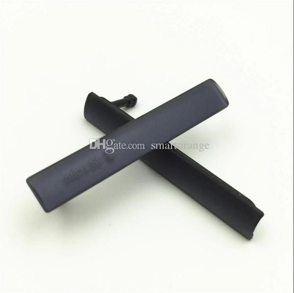 새로운 USB 충전 포트 먼지 커버 + 소니 Xperia Z3 미니 컴팩트 M55W 용 심 SD 포트
