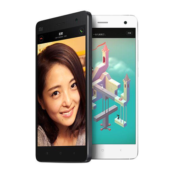 "Original Xiaomi Mi4 64GB Mi 4 Mobile Phone MIUI V6 Optional 5"" Qualcomm Snapdragon 801 Quad Core 1920X1080P 3GB 13MP IR"
