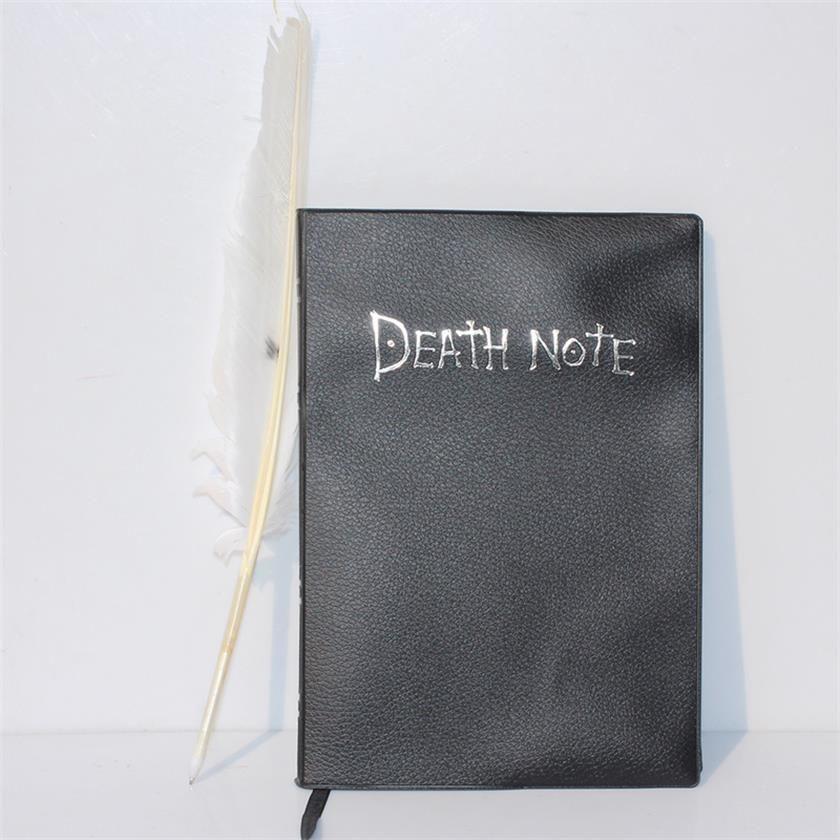 Novo Death Note Notebook Cosplay Pena Pena Livro Anime Writing Journal