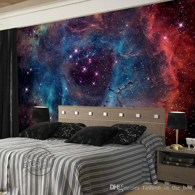 Gorgeous Galaxy Wallpaper Nebula Photo Wallpaper Custom 3d Wall Murals  Children Bedroom Living Room Shop Art Wedding Room Decor Starry Night  Wallpaper Hd ...