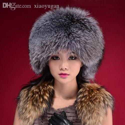 Womens Faux-Fur Hat Hat Attack