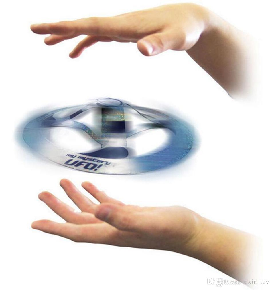 Fun Floating UFO Toy Saucer Magic Tricks Flying Disk Amazing Floating Toys Magic Spinners Flying Toys OPP Bag Package