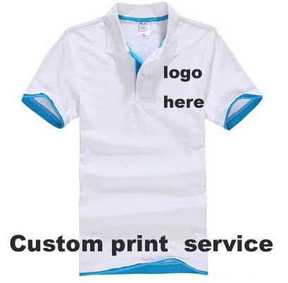 Custom Made T Shirts Camisa Logo Printing Embroidery Business Logo ...