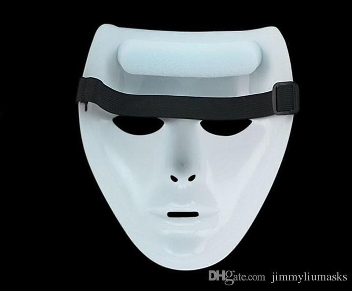 أعلى جودة جديد الرعب الرجال النساء هالوين قناع الوجه شبح الرقص الخطوة قناع الهيب هوب جاباووكيز