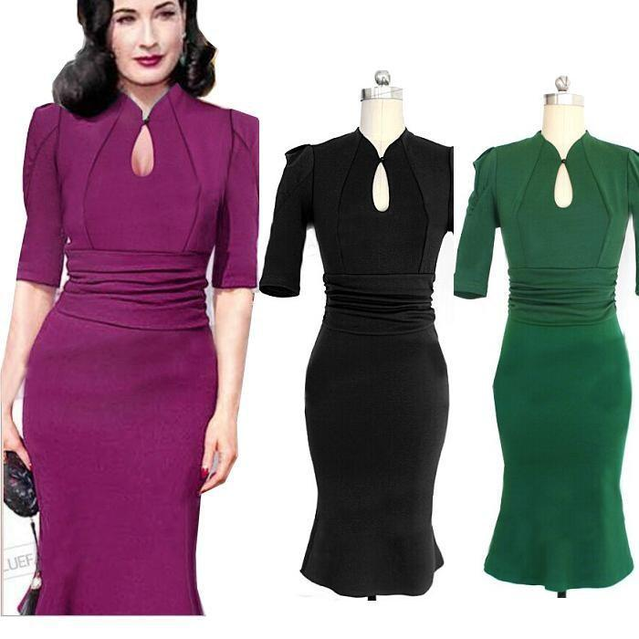 2018 2015 New Women Fashion Dresses Short Sleeve Purple Green Party ...