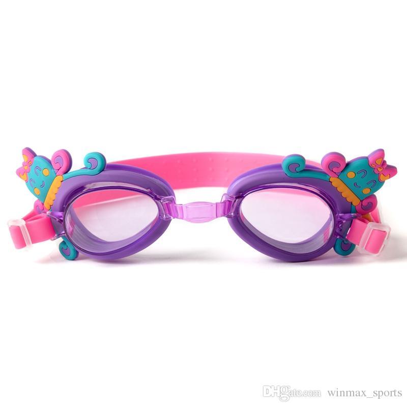 Winmax Kids Swimming Goggle for Chirldren قابل للتعديل مكافحة الضباب نظارات السباحة