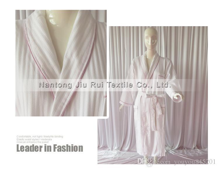Hot Sale High Quality Softness 100% Cotton New Couple Bathrobe,Comfortable Wholesale Bathrobe,Hotel Bathrobe Can Customized