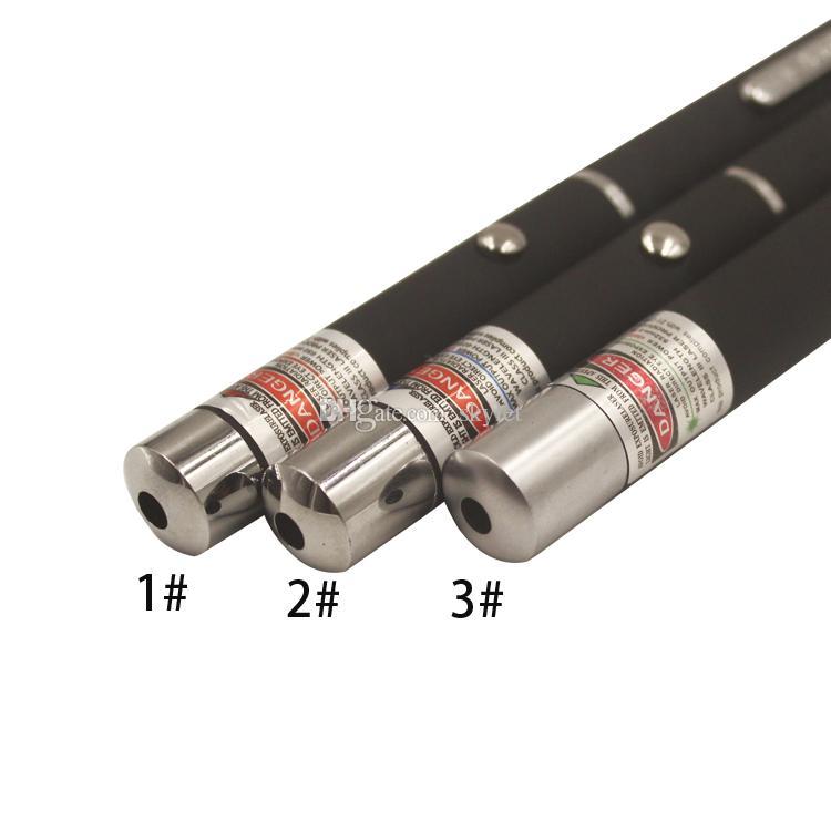 Зеленый красный свет Лазерная ручка Луч лазерная указка ручка для SOS монтаж ночь охота обучение Xmas подарок Opp пакет DHL Бесплатная доставка