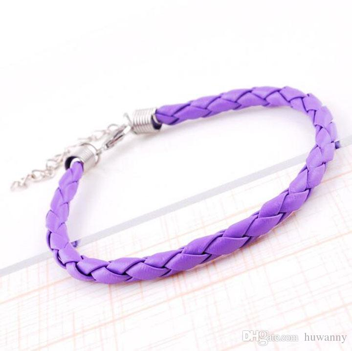 Hot Sale Special Offer Infinity Bracelet Fashion Leather Braided Charm Bracelets For Women Girl Jewelry Wholesale 0028DR