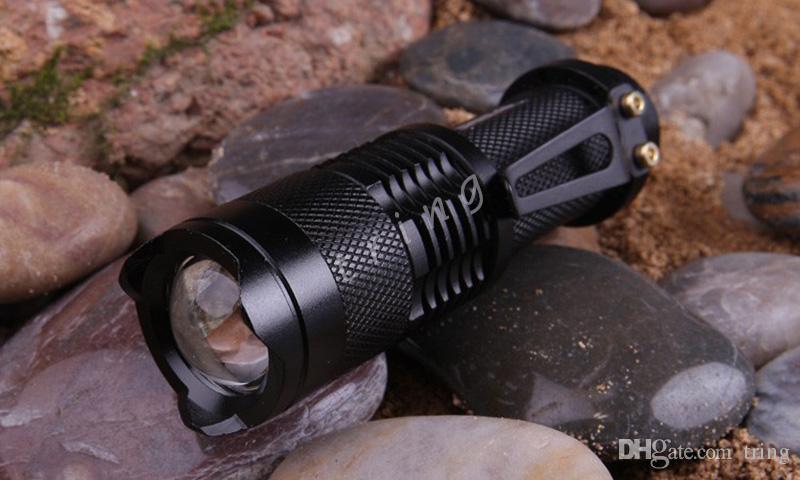 UltraFire фонарик CREE XML T6 Q5 LED тактический Портативный мини Факел увеличить 3 режима водонепроницаемый велосипед свет фонари лампы