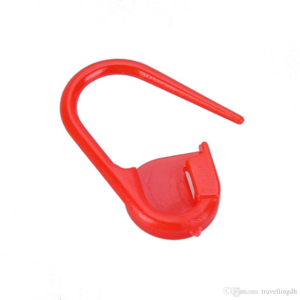 1000 teile / satz Bunte Kunststoff Nadel Clip Haken Stricken Häkeln Locking Stich Marker Häkeln Latch Stricken Werkzeuge