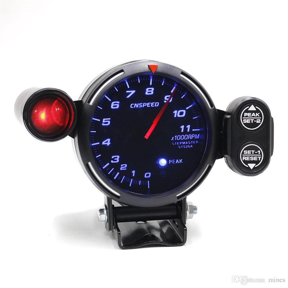 satın al cnspeed 80mm rpm takometre yarış metre otomatik Ölçer işık