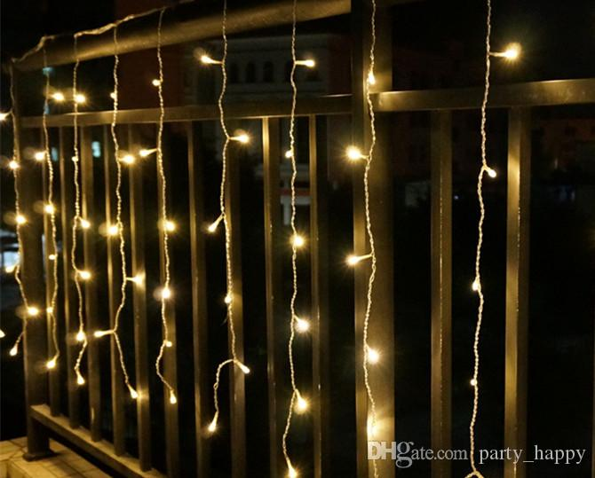 Manufacturers Sell 3 * 3 m 300 LED Curtain Light String All Over The Sky Star Ice Article Lights Christmas Lights Holiday Lights