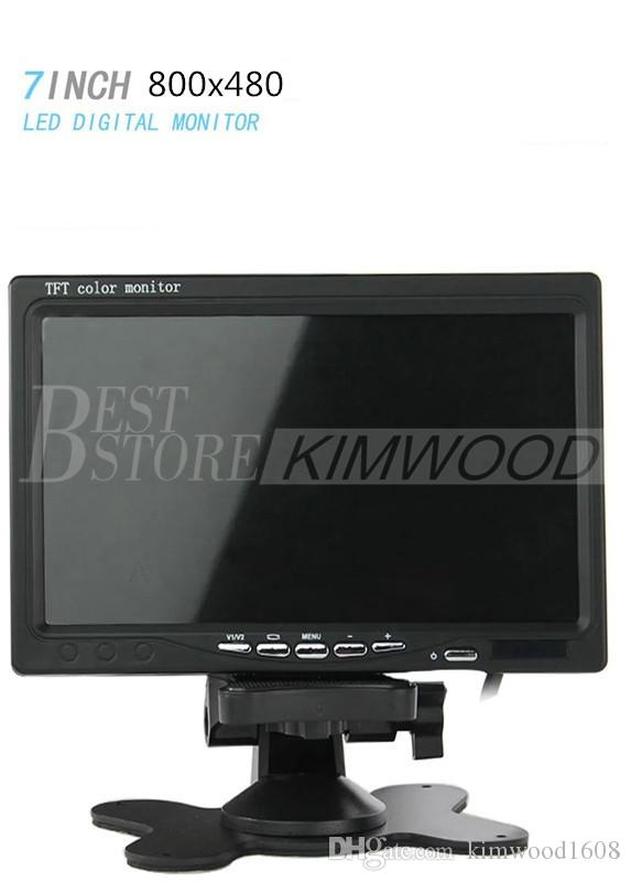 "12-24V Wireless Reversing Parking Backup Camera for bus truck caravan car 7"" LCD Rear view Monitor Screen Kit UP to 50m"