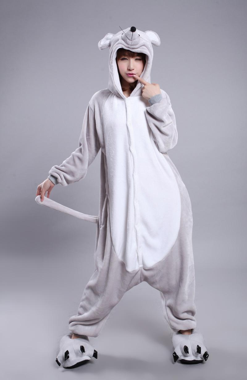 Latest Cool Zodiac Adults Rabbit Mouse Onesie Anime