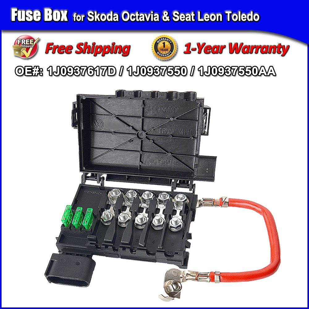 Skoda Octavia 2 Fuse Box Diagram Wiring Library Fabia 1 Year Warranty For Seat Leon Toledo
