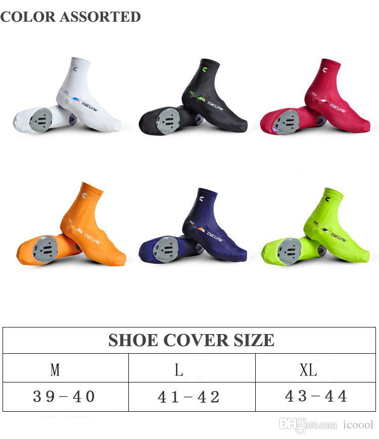 2017 Wholesale Cheji MTB Bike Bicycle Shoe Covers Windproof Cycling Shoes Cover MTB Bike Overshoes Sports Outdoor Zippered OverShoes
