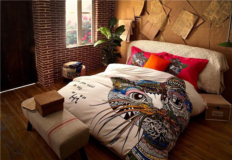 high grade fashion bedding sets king sizecartoon cotton duvet coveteurope art horse bed sheets queen size pink duvet covers buy duvet from newdv