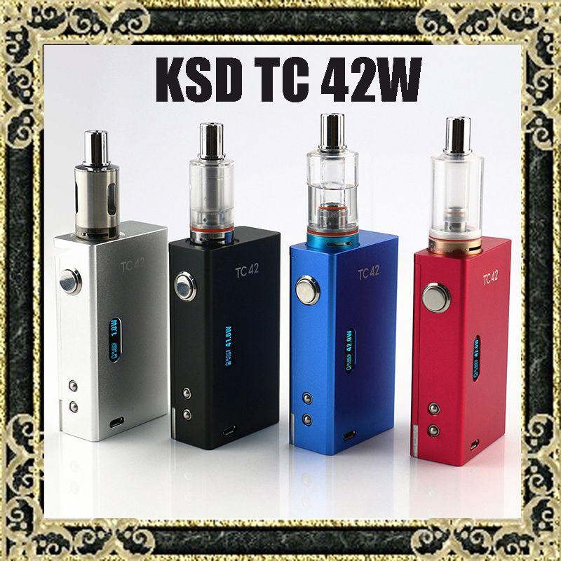 Kangside Tc42 Box Mod Kit Vamo One Vaporizer Kit Full E Cigarette Kit 1~42w  Vw Mod Best E Cig Starter Kit Uk Best E Cig Starter Kits From Dvd_store, ...