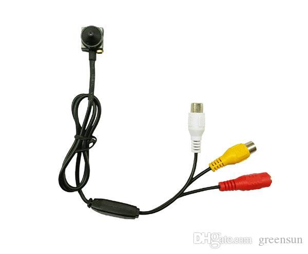 Mikrofon ile yeni 600TV Line HD Tiny Mini Küçük CCTV Kamera