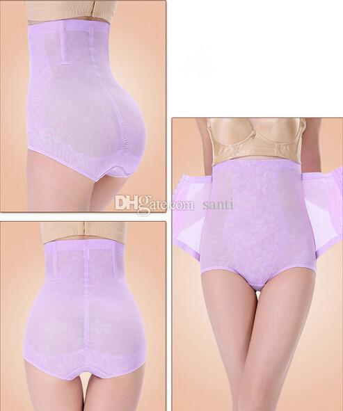 Femmes Minceur Sous-vêtements Abdomen Taille Haute Cincher Hanche Corps Corset Contrôle Pantalon Shaper Brief