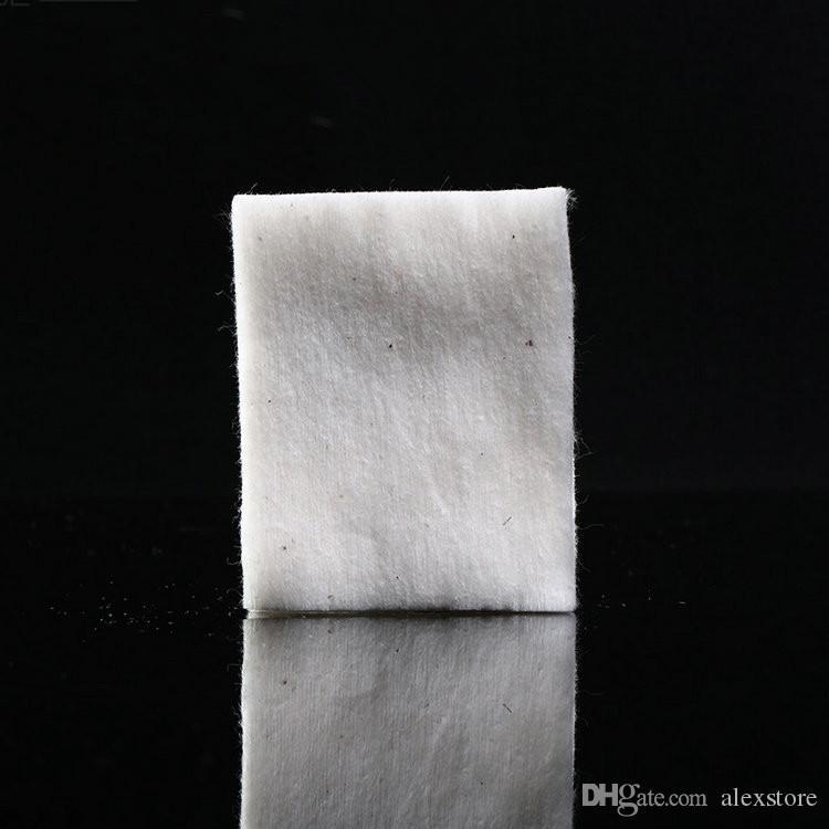 Мини-пакет подлинный японский чистый органический хлопок фитили хлопчатобумажные ткани Япония от MUJI для DIY RDA RBA атомайзер Ecig катушки 10 шт./лот DHL