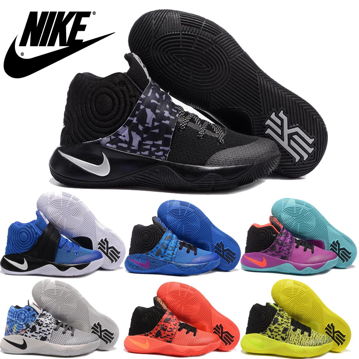 10decab02197 2016 New Nike Kyrie2 Ii Tie Dye Inferno Men Basketball Shoes