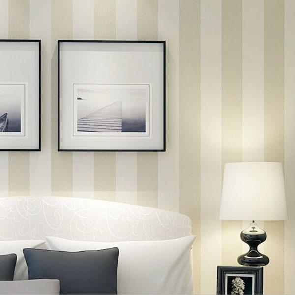 10m Roll Modern Simple Style Beige White Grey Striped Wallpaper  Livingroom/Bedroom Wallpaper Free High Res Wallpaper Free High Res  Wallpapers From Sevenking ...
