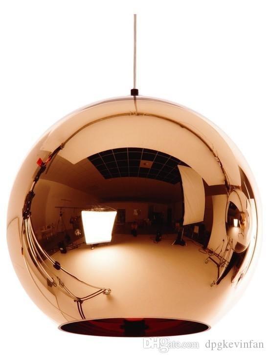 Modern Led Chrome Gold Copper Glass Globe Round Ball Pendant Lights Hanging  Lighting For Dining Room Hanglamp Lamp Cheap Pendant Light Ceiling Lamps  Online ...